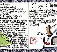 Illustrated Recipe: Goya Champuru by dosankodebbie