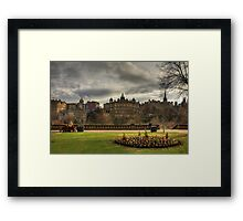 Old Town View Framed Print