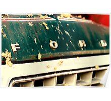 four wheelin' ford Poster
