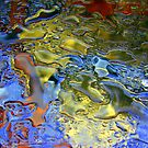 Water Abstract - Jeweled by Deborah Crew-Johnson
