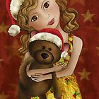 Christmas Bear Hugs by Kristy Spring-Brown