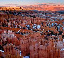 The Rarest Light in Bryce Canyon by Weihao Pan