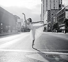 Lisa. Crossing the Street Ballerina Style by urbanballerina