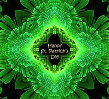 St Patrick's Day Kaleidoscope by Belinda Osgood
