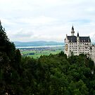 Schloss Neuschwanstein from the Marienbrücke by Nick Coates