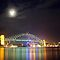 Sydney Harbour at Night by Andrejs Jaudzems