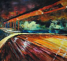 Le Pont (Bridge) Featured in Virtual Museum, Painters universe, Group Gallery -Art Photography by Françoise  Dugourd-Caput