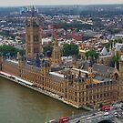 Parliament : Taken from the London Eye by AnnDixon