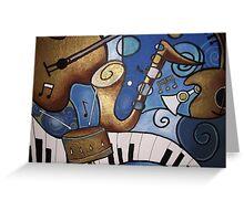 Musical Mural Greeting Card