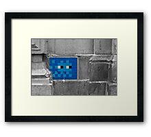 Space Invader 5 Framed Print