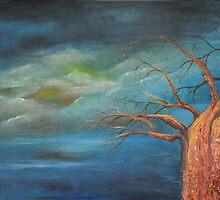 Golden Baobab by Gigi Guimbeau