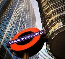 London Underground by Mark Smart