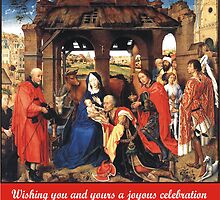 Roger van der Weyden's Adoration of the Magi by Harveylee