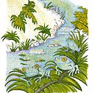 Frogs in the Daytime by Judy Newcomb