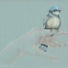 Bird On My Hand by Karen  Securius