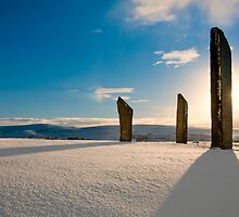 Standing Stones of Stenness by Colin Wilson