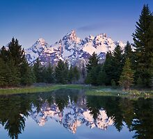 Schwabacher Landing Grand Teton National Park by dalbecphoto