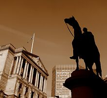 Statue of Wellington, London by Chris Millar