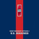 USMC W3 CWO3 Blood Stripe by Sinubis