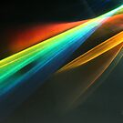 Rainbolic - Experimental Prism Photograph #48 by jeffjag