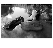 2012 Waterscape Nudes Calendar - January by Scott Foltz