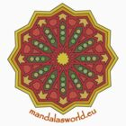 Alhambra Mandala 1b by Mandala's World
