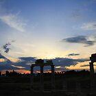 Pamukkale sunset by Christine Oakley