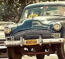 Yank Tank in Havana by Henny Boogert