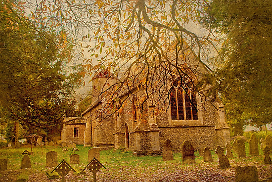 All Saints Church 2 by Catherine Hamilton-Veal  ©
