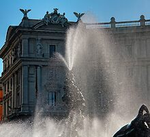 Water splashes by Roberto Bettacchi