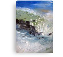 When the tide comes in Canvas Print