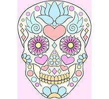 Calavera / sugar skull Photographic Print