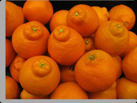 Minneola Oranges by Ginny York
