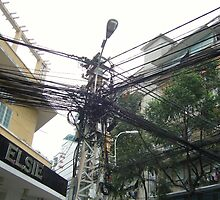 telecommunications infrastructure by YourHum