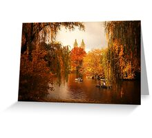 Autumn - Central Park - New York City Greeting Card