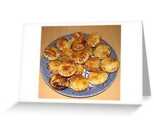 Sweet Mince Pies - Freshly Baked Greeting Card