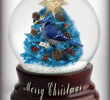 ˚✰˚ ˛★* 。 ˛CHRISTMAS TREE BLUE JAY SNOW GLOBE #2 ˚✰˚ ˛★*  by ✿✿ Bonita ✿✿ ђєℓℓσ
