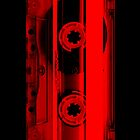 Cassette Tape Red by CaseBase