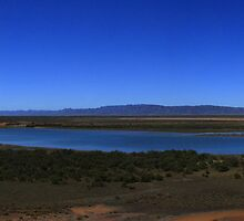 Red Cliffs Port Augusta by Noel Elliot