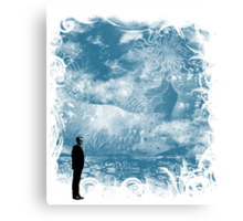 seaside call Canvas Print