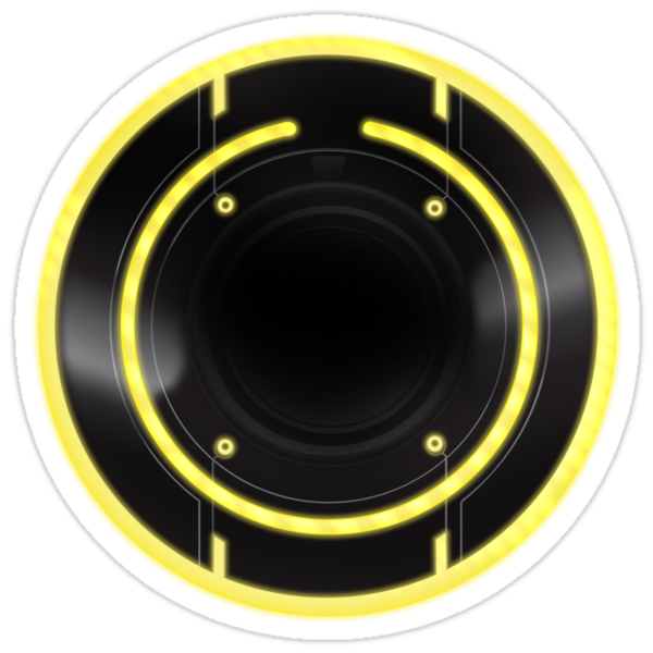 TRon Legacy - Clu's ID Disc by Ryan Wilton