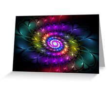 Seek the Universe Within the Bloom Greeting Card