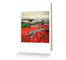 Skye Phonebox Greeting Card