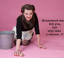 Vintage Housework? by Jude Gidney