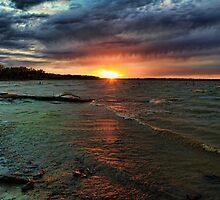 Sunset Time by Carolyn  Fletcher