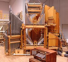 Restoration of Kimball Opus 7109 in the Reuter assembly room    III/22 by reuter organ