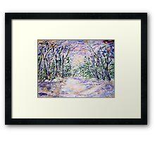 WINTERLAND  Framed Print