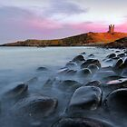 Lilburn Tower, Dunstanburgh Castle by John Finney