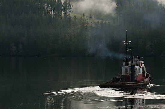 Tug on duty, Port Hardy BC by lgraham