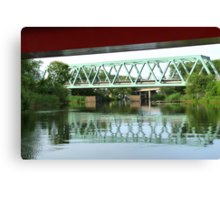 Green Bridge Canvas Print
